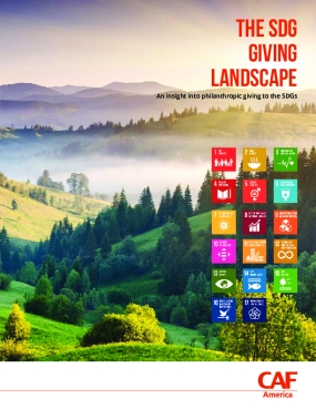 The SDG Giving Landscape: An Insight into Philanthropic Giving to the SDGs