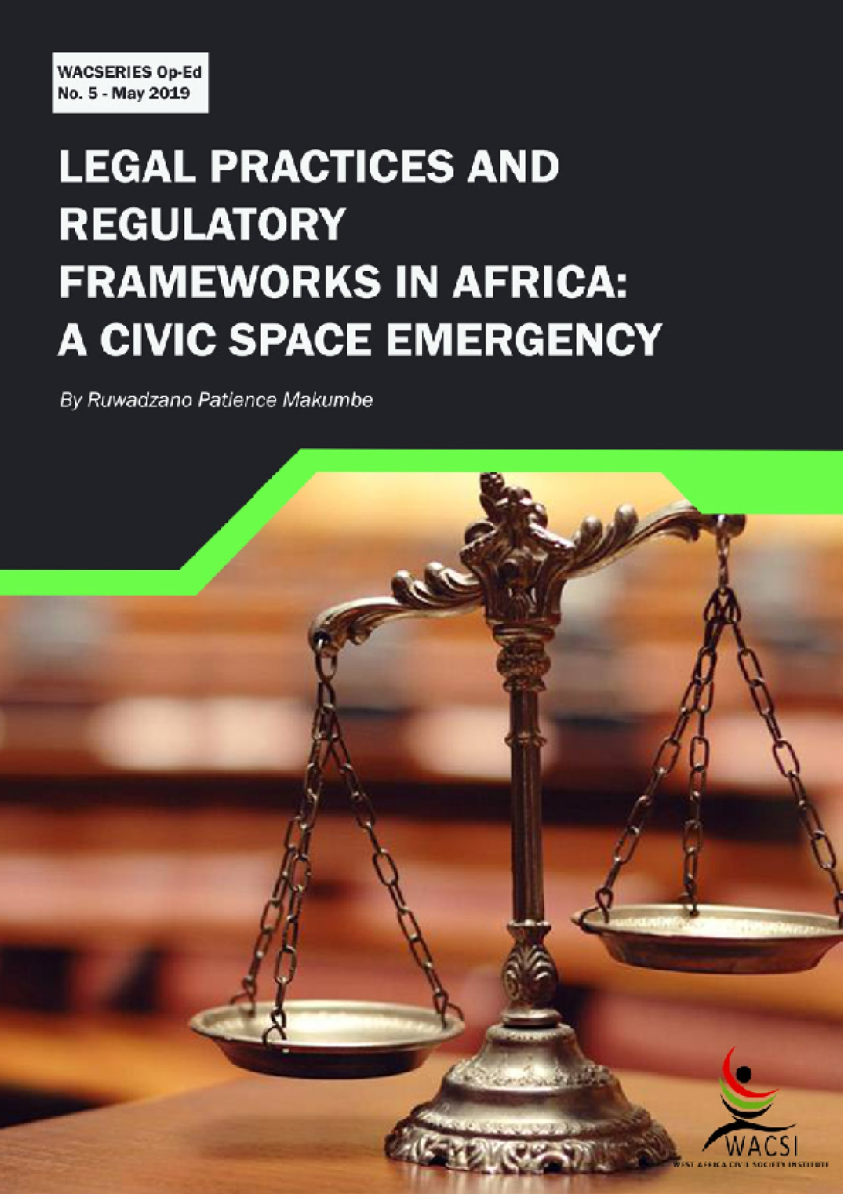Legal Practices and Regulatory Frameworks In Africa: A Civic Space Emergency