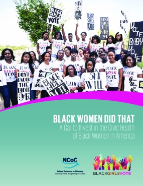 Black Women Did That: A Call to Invest in the Civic Health of Black Women in America